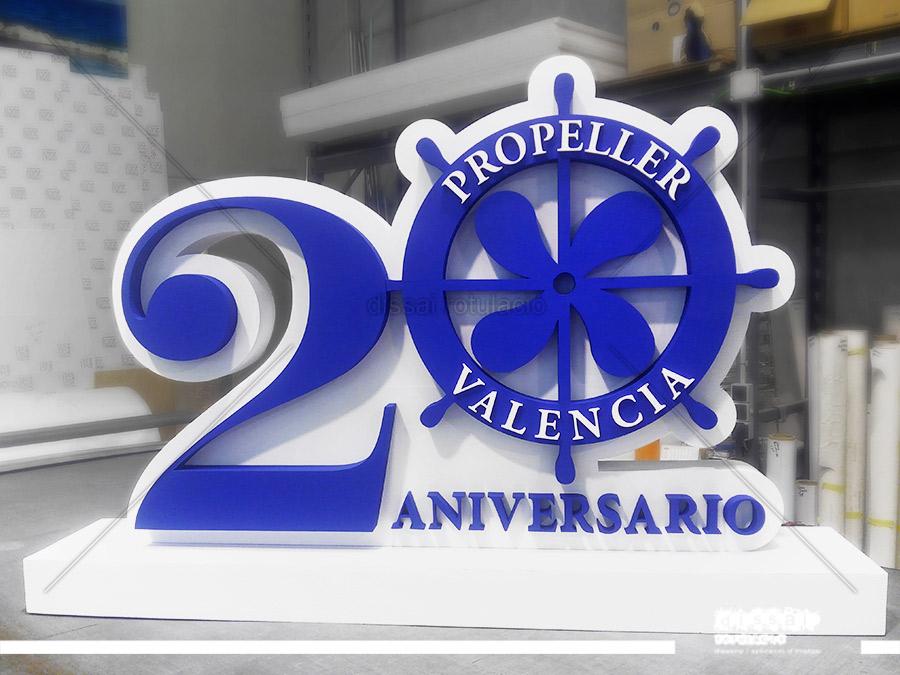 PROPELLER VALENCIA, 20 ANIVERSARIO – Corpóreo