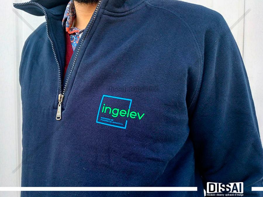 INGELEV: marcaje de ropa laboral