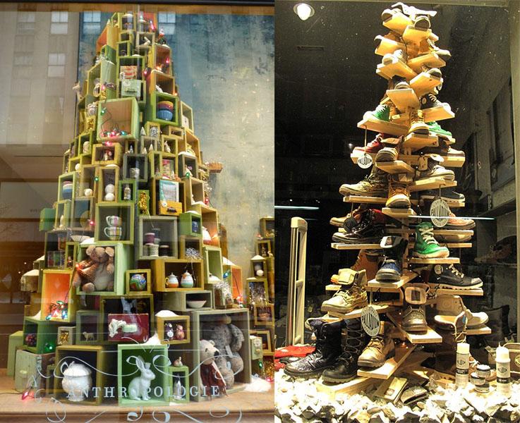 arbol de navidad con productos