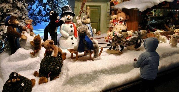 destacada escaparates navideños