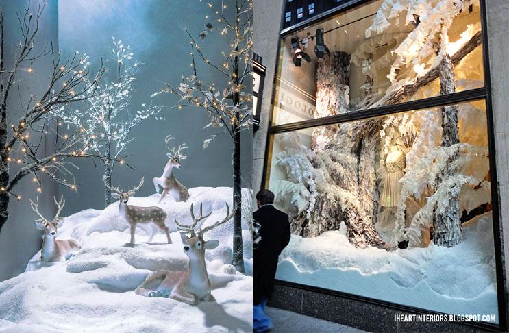 escaparate navideño nieve artificial 5