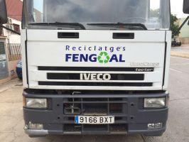 Rotulación de camión Reciclatges Fengoal
