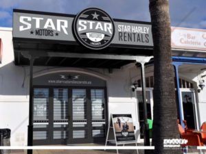 star motors - personalizacion de fachada