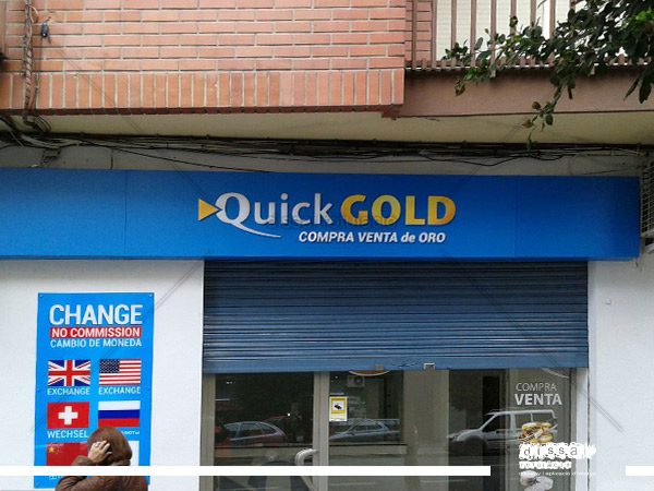 intervencion en fachada de  Quick Gold (1)