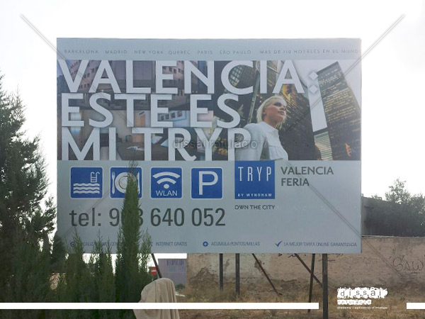 TRYP VALENCIA BANNER