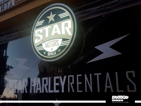 star motors - plafon luminoso circular
